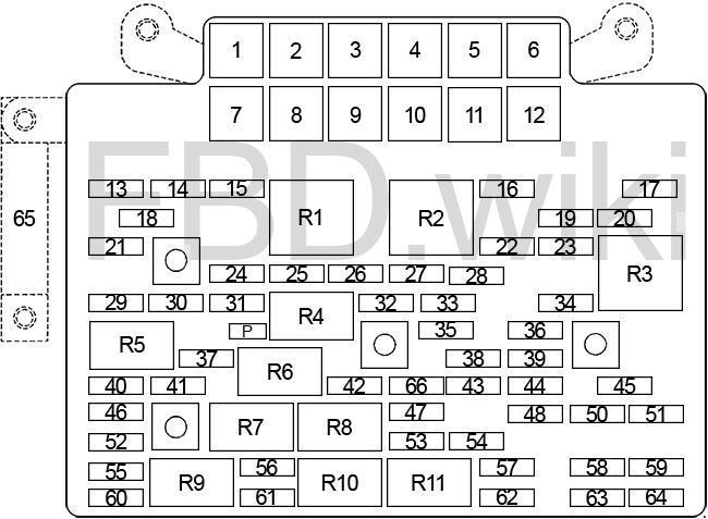 03-'06 Chevy Silverado & GMC Sierra Fuse Box Diagram   Chevy 2003 Fuse Diagram      knigaproavto.ru