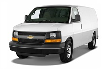 2003-2007 Chevrolet Express and GMC Savana Fuse Box Diagram