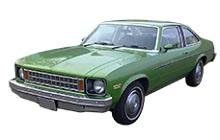 1975-1979 Chevrolet Nova Fuse Box Diagram