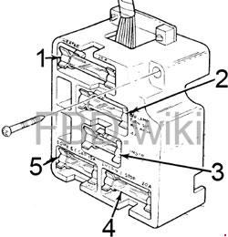 1973-1975 Ford F100, F150, F250, F350 Fuse Box Diagram