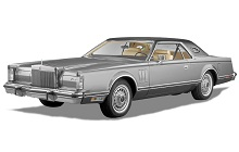 1972-1976 Lincoln Mark IV Fuse Box Diagram
