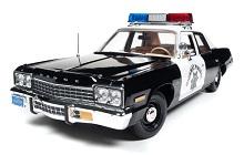 1974-1976 Dodge Monaco, Plymouth Fury Fuse Box Diagram