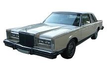 1981-1983 Lincoln Town Car Fuse Box Diagram