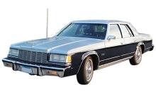 1979-1981 Dodge St. Regis Fuse Box Diagram