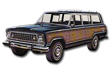 1972-1983 Jeep Wagoneer and Cherokee Fuse Box Diagram