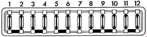 Porsche 914 Fuse Box Diagram