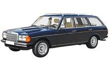 1976-1985 Mercedes-Benz W123 Fuse Box Diagram