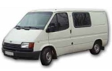 1986-1992 Ford Transit Fuse Box Diagram