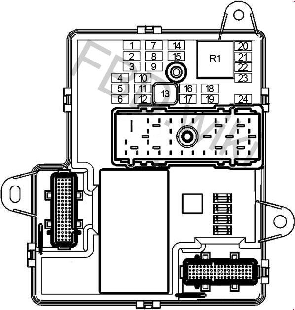 05-'10 Chevrolet Cobalt & Pontiac G5 Fuse Box Diagram | 2008 Chevy Cobalt Fuse Box Diagram |  | knigaproavto.ru