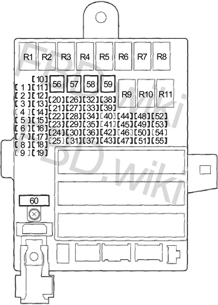 10-'14 honda insight fuse box diagram  knigaproavto.ru