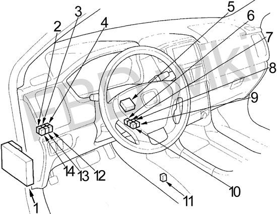 03-'08 Honda Pilot Fuse Box Diagram | 2005 Honda Pilot Fuse Box Diagram |  | knigaproavto.ru