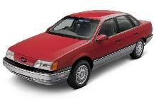 1985-1991 Ford Taurus and Mercury Sable Fuse Box Diagram