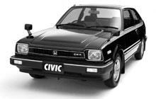 Схема предохранителей Honda Civic 2 (1979-1983)