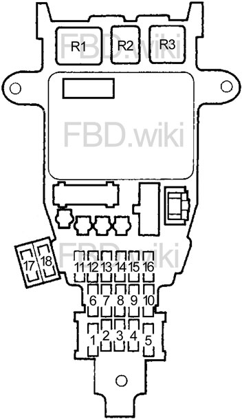 [GJFJ_338]  94-'97 Honda Accord Fuse Diagram | 1997 Honda Accord Fuse Box Location |  | knigaproavto.ru