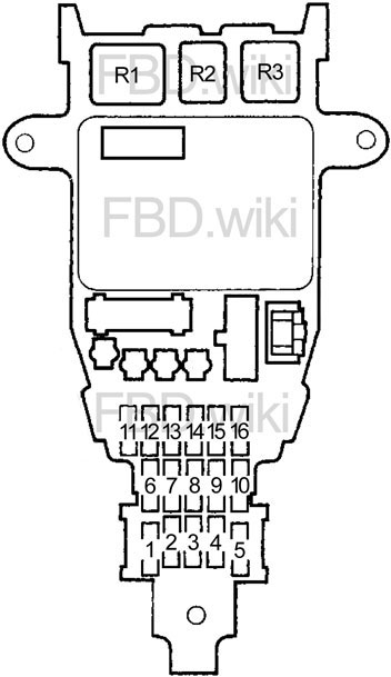 90 93 Honda Accord Fuse Diagram, 93 Honda Accord Wiring Diagram