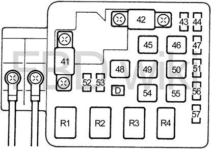 1996-2000 Honda Civic Fuse Diagram   Civic Fuse Diagram For 2000      knigaproavto.ru