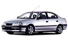 1997-2002 Toyota Avensis / Corona Fuse Box Diagram
