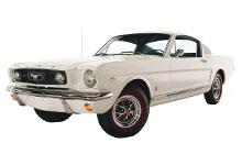 1965-1966 Ford Mustang Fuse Box Diagram
