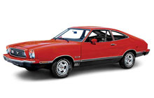 1974-1978 Ford Mustang Fuse Box Diagram