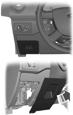 2009-2013 Ford Transit Connect Fuse Box Diagram