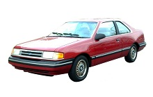 1984-1994 Ford Tempo Fuse Box Diagram