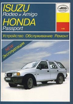 Схема предохранителей Honda Passport (1993-1997)