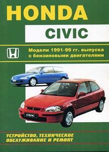 Схема предохранителей Honda Civic 6 (1995-2000)