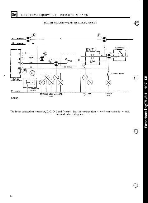 Схемы электрооборудования Land Rover Defender 90, 110 и 130