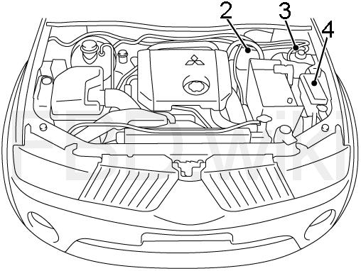 2017 Mitsubishi L200 Triton Fuse Diagram