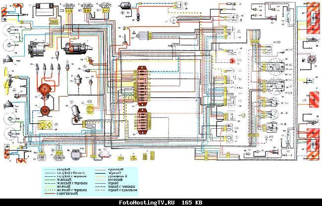 Бесплатный сборник электрических схем двигателей, инжекторов