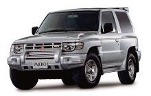 '91-'99 Mitsubishi Pajero, Montero & Shogun Fuse Box Diagram