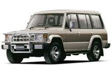 '82-'91 Mitsubishi Pajero, Montero & Shogun Fuse Box Diagram