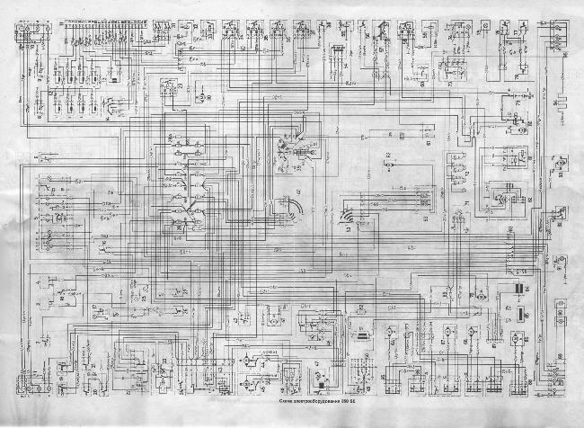 Схемы электрических соединений автомобилей Mercedes-Benz W116