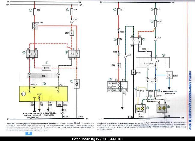 Вот разбирайся.  Это все схемы электрические.