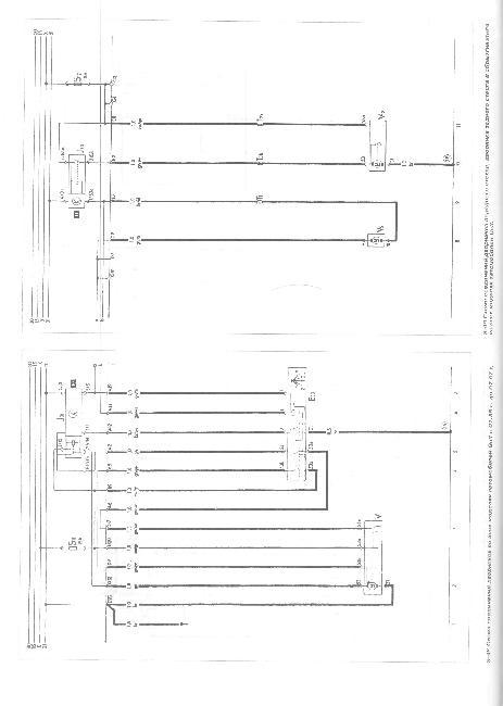 Схемы электрических соединений автомобилей Volkswagen Golf II / Jetta II 1984-1993 г.