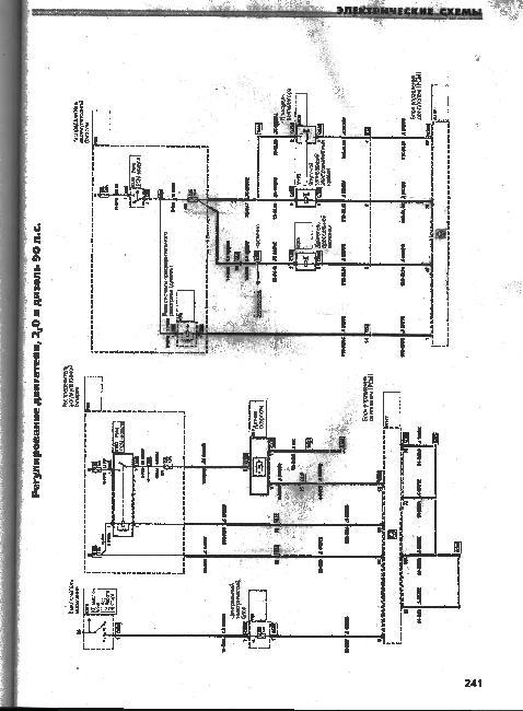 Электрические схемы FORD MONDEO с 2000