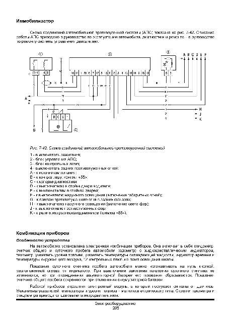 Скачать Схема электрооборудования автомобиля ВАЗ 2123 / Шевроле Нива.