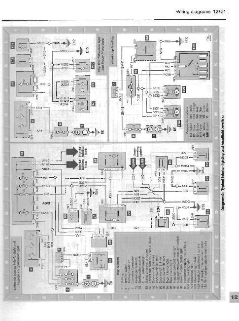 Схемы электрооборудования PEUGEOT 406 1996-1997