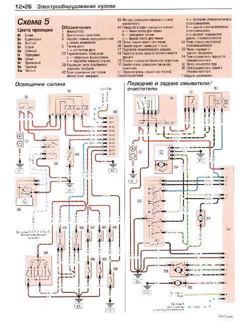 Схема проводки для иж планеты з