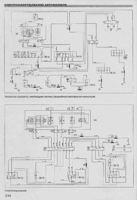 Схемы электрооборудования RENAULT MEGANE с 1996г