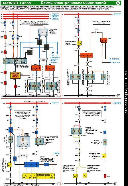 Электрические схемы Chevrolet