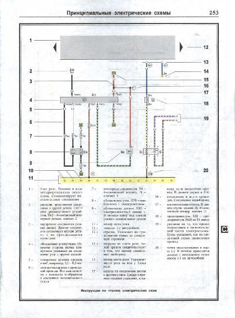 Схемы электрооборудования VOLKSWAGEN GOLF V / GOLF PLUS / JETTA / TOURAN с 2003