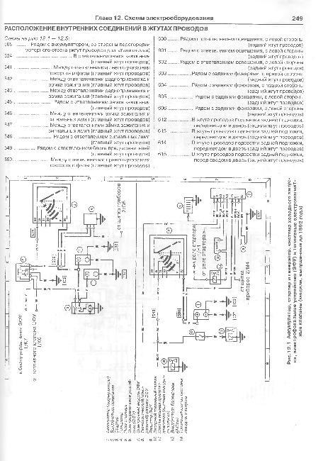 схема электропроводки форд транзит.