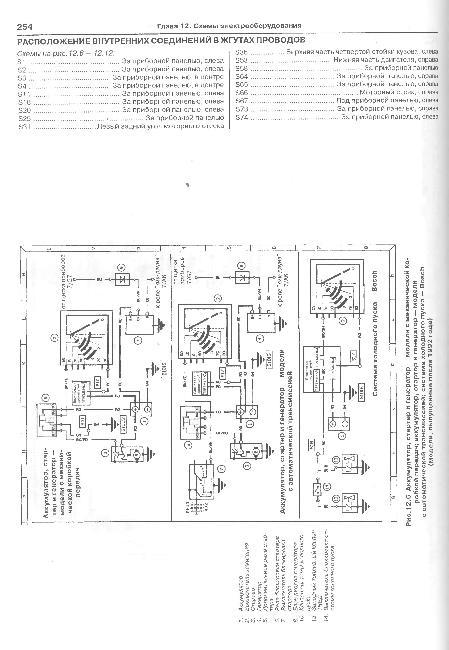 Схемы электрооборудования Ford Transit 1986-1998