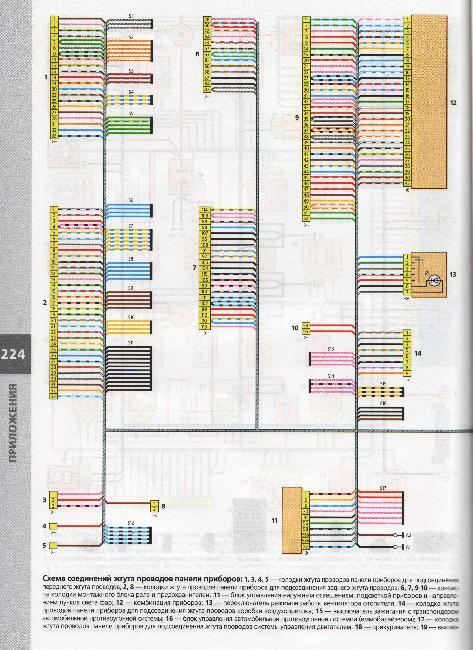 ...вазы более 50 электросхем vw passat b3 b4 электрооборудование альбом схем описание электрооборудования.
