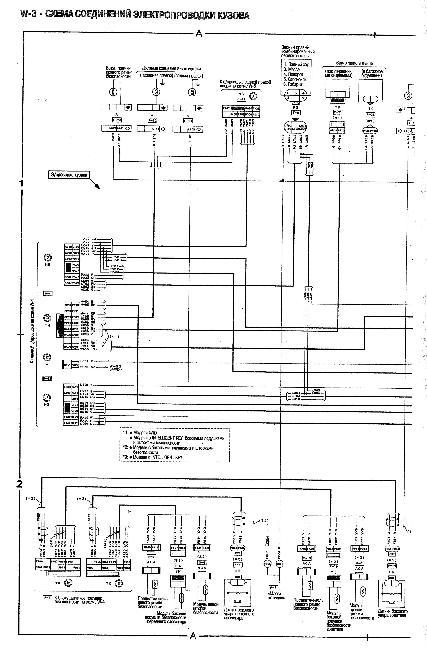 Схемы электрооборудования NISSAN CUBE с 2002 бензин