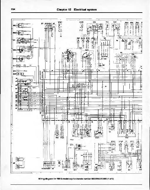 Электрическая схема для mercedes benz 190 d мерседес 190 электрооборудования.