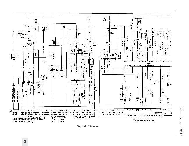 Схемы электрооборудования Opel Kadett E 1984-1991