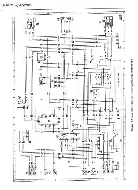 цветные электрические схемы пежо 406