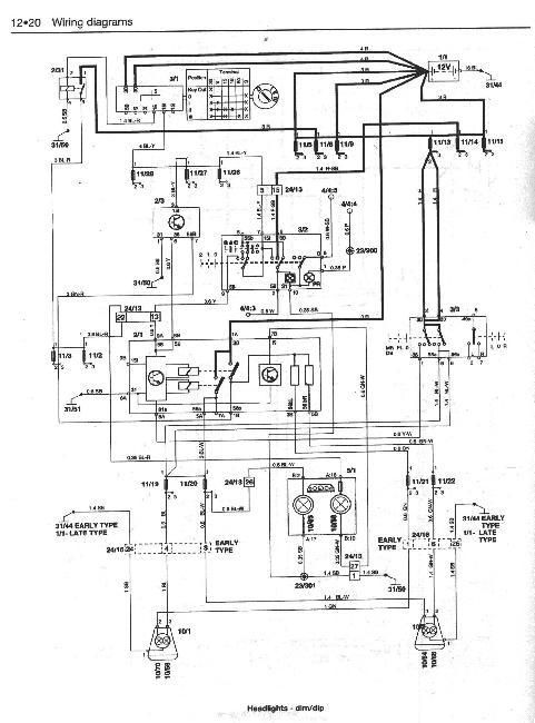 Схемы электрооборудования Volvo 850 с 1992-1996